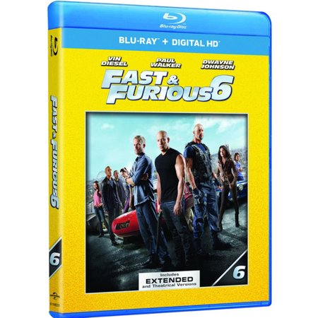 fast furious 6 blu ray digital copy movie cash. Black Bedroom Furniture Sets. Home Design Ideas