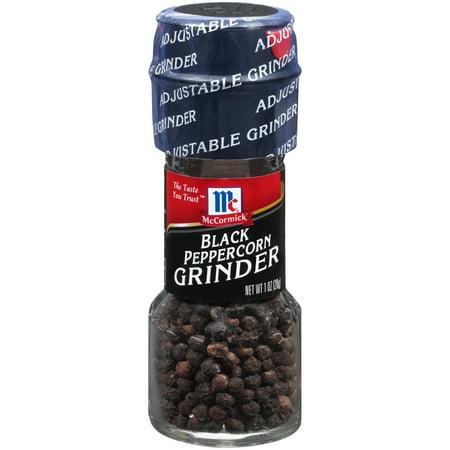 Pepper Type - (2 pack) McCormick Black Pepper Grinder, 1 oz