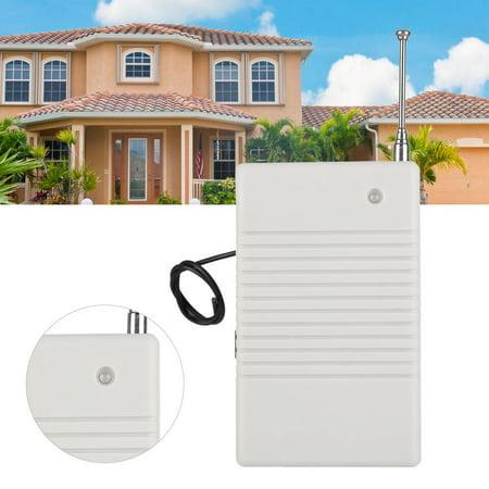 FAGINEY Signal Transmitter, Wireless Signal Repeater,433MHZ Wireless Signal Repeater Transmitter for Security Alarm System US Plug