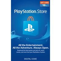 $10 PlayStation Store Gift Card [Digital Download]