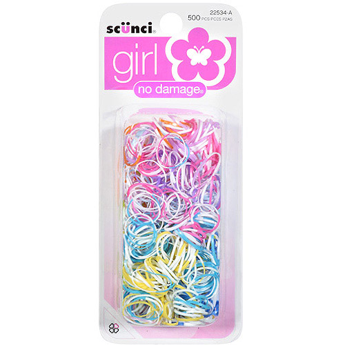 Scunci Girl Hair Bands, 500 count