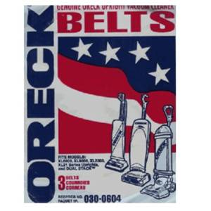 Oreck XL Upright Belt 3 in a pack