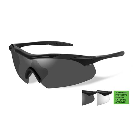 Wiley X WX Changeables Vapor Matte Black Sunglasses (Wiley X Womens Sunglasses)