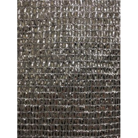 Image of RSI Knitted Aluminum Reflective Shade Cloth 12ft x 20ft ? 50%