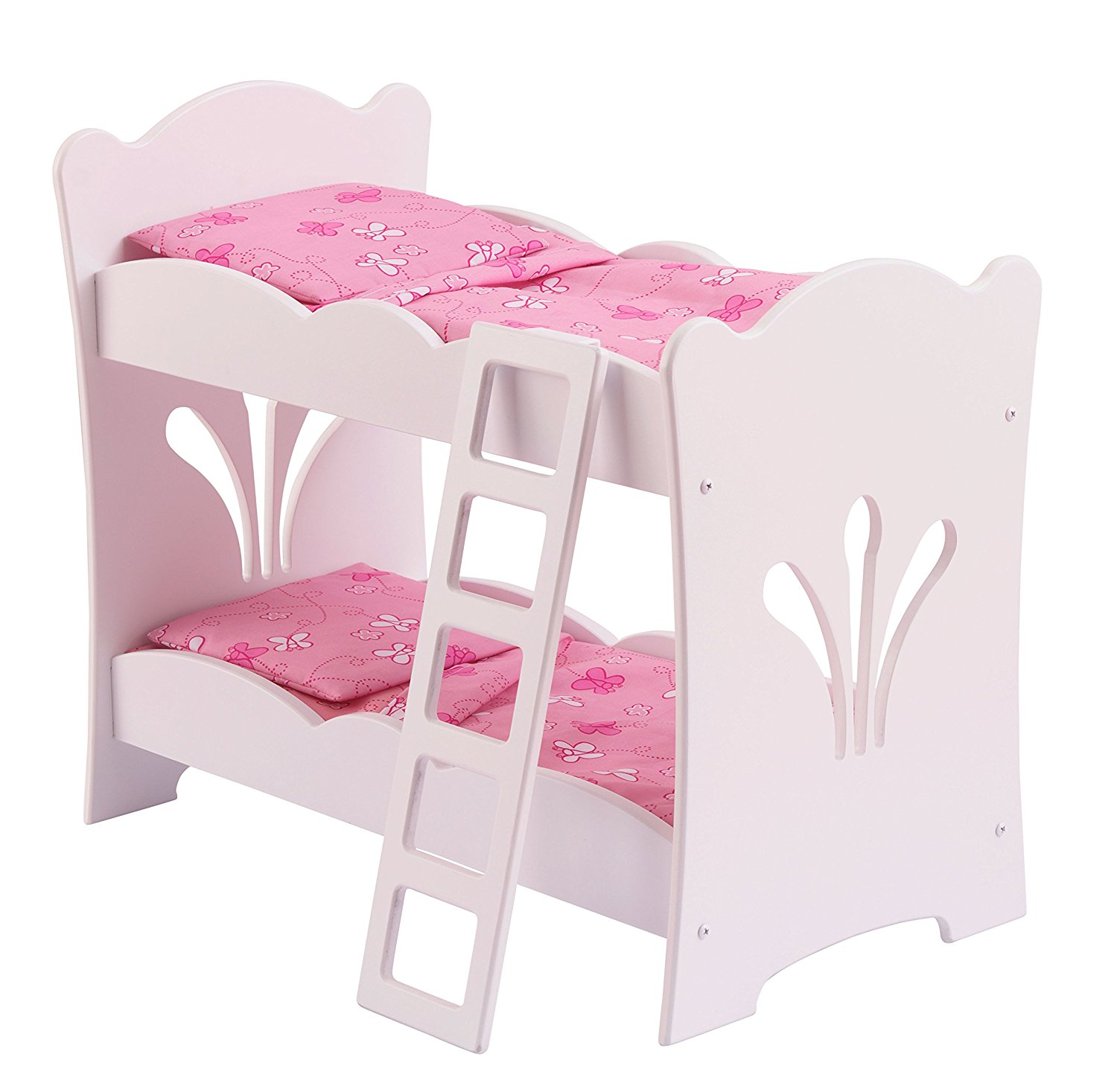 Little Doll Bunk Bed, Includes ladder that helps dolls reach the top bunk By KidKraft