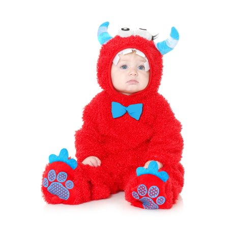 Infant Monster Madness Red & Blue - Blue Monster Costume