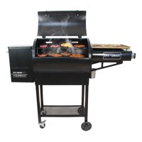 Lifesmart 600 Square inch Pellet Grill with Side Griddle