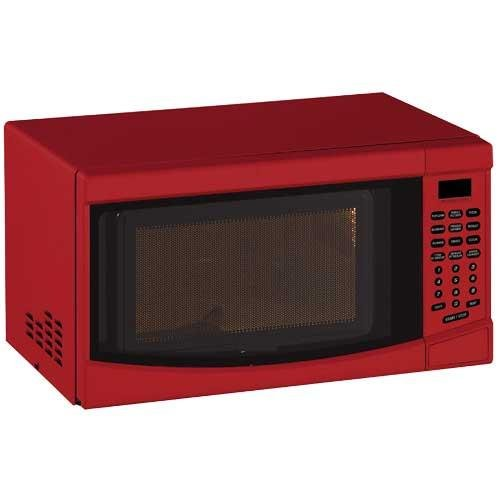 Avanti 0.7 cu. ft. Countertop Microwave Oven Red