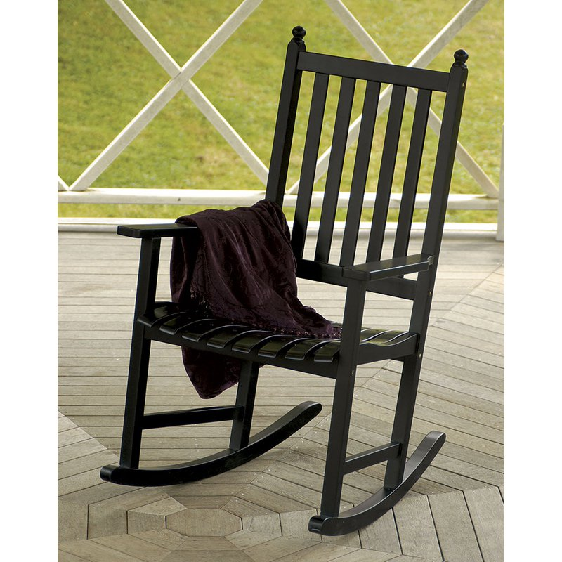Achla Designs Eucalyptus Rocking Chair- Natural