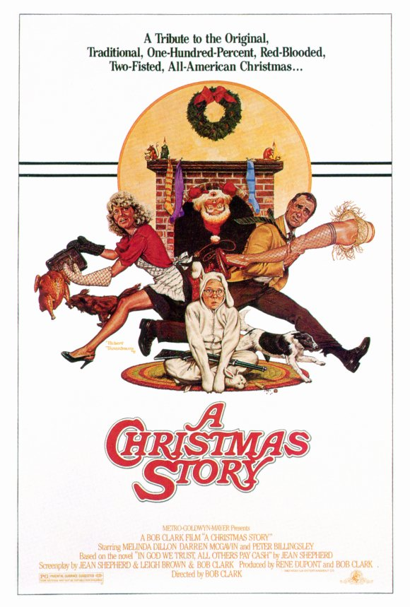 A Christmas Story (1983) 27x40 Movie Poster by Pop Culture Graphics