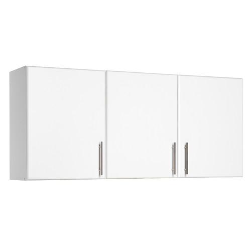 Prepac Elite Storage 24'' H x 54'' W x 12'' D White Wall Cabinet ...