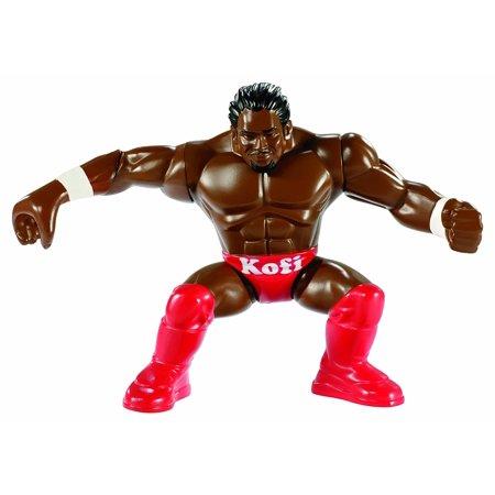 WWE Power Slammers Kofi Kingston Figure, Kid-powered Superstar matches with your WWE favorites By - Kofi Kingston Kids