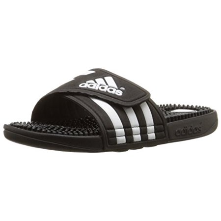 adidas Adissage Slide Sandals Black White