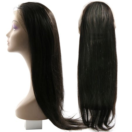 """Pre Plucked 360 Lace Frontal Closure Lace Band Closure Remy Hair Straight 8""""-20"""" - image 8 of 8"""