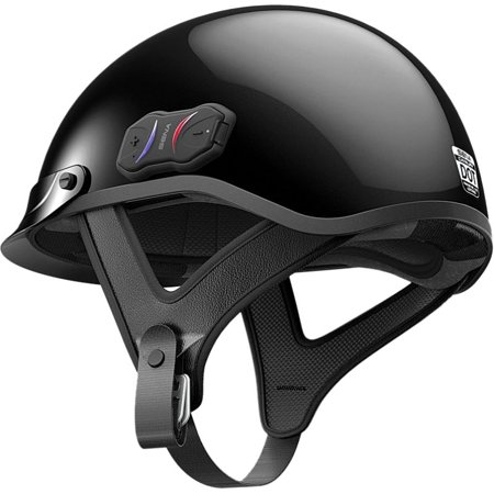 SENA Cavalry Bluetooth Half Helmet Gloss Black ()