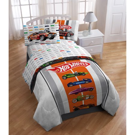 Mattel Hot Wheels Sheet Set