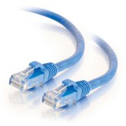 Weltron CAT6 Booted Patch Cable - 25Ft Blue - Category 6 for Network Device, Modem - Patch Cable - 25 ft - 1 x RJ-45 Male Network - 1 x RJ-45 Male Network - Blue