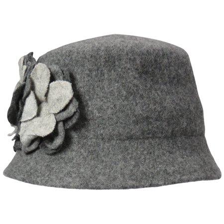Nine West Women's Knit Microbrim Hat, Heather Grey, One Size