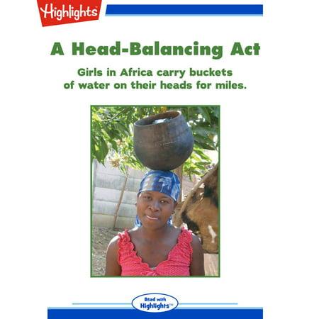 Head-Balancing Act, A - Audiobook ()