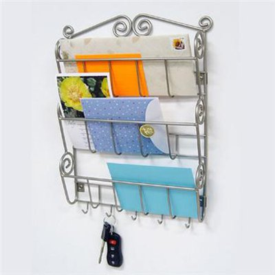 Scroll Wall Mount Letter Holder