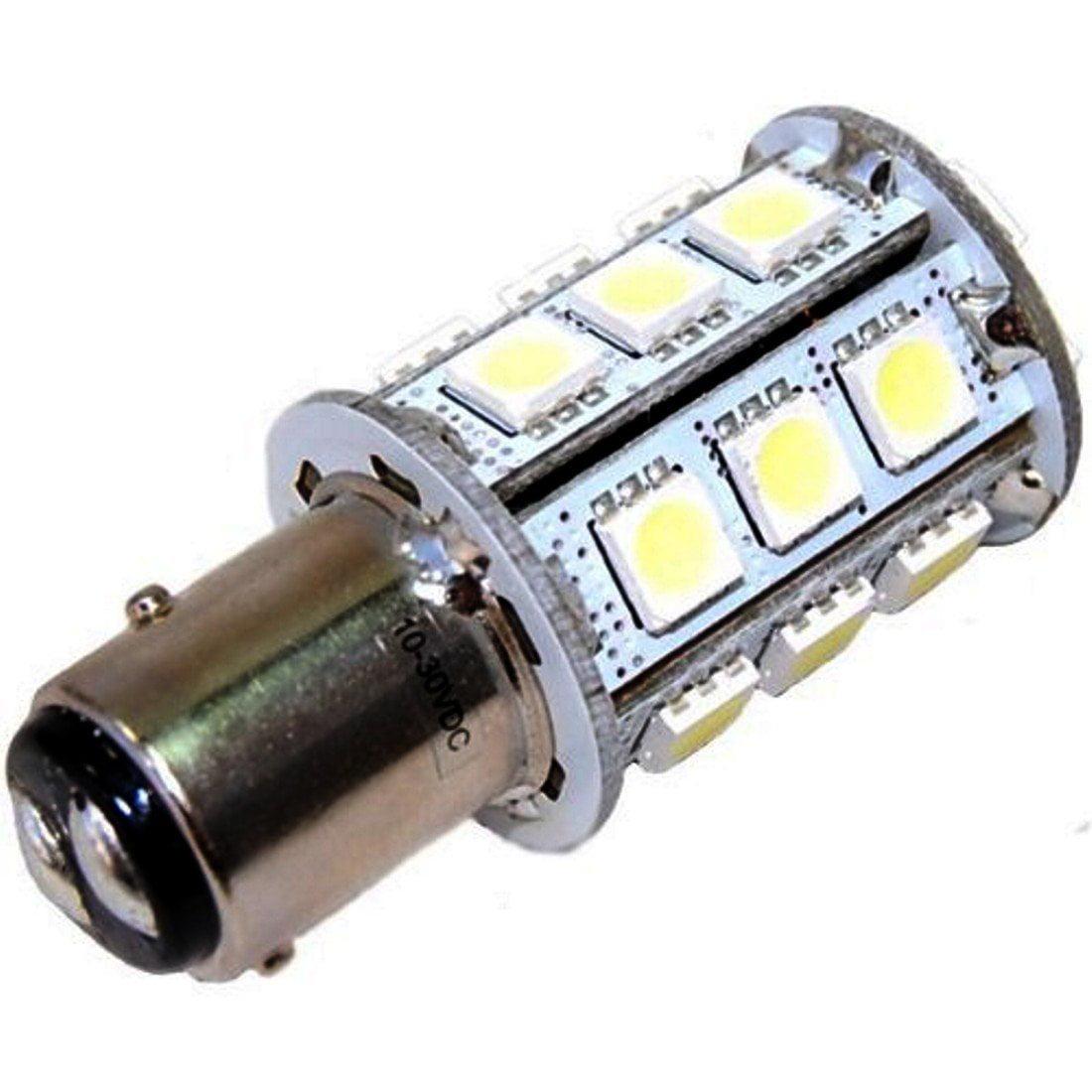 Perko navigation lights AquaSignal HQRP BAY15d Base 24 SMD LED Bulb for Hella