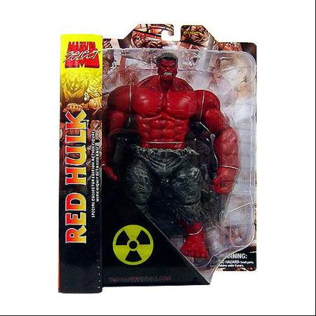 Marvel Select Red Hulk Action Figure (Diamond Select Marvel Select Colossus Action Figure)