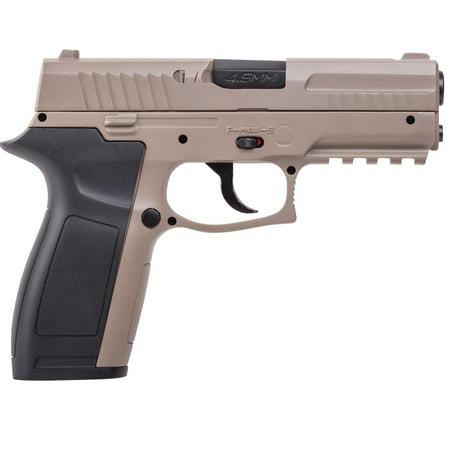 Crosman MK45  177 Caliber Semi-Auto CO2 Air Pistol, 480fps