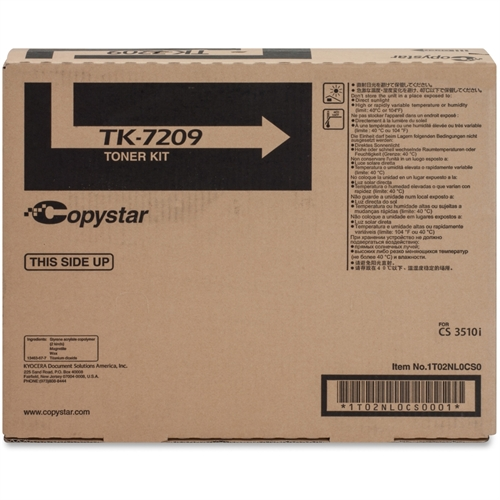 Copystar Tk7209 Toner Cartridge - Black