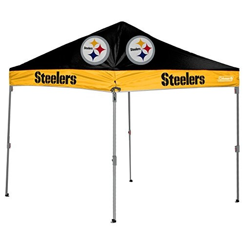 NFL Straight Leg Canopy with Case, 10 x 10 []