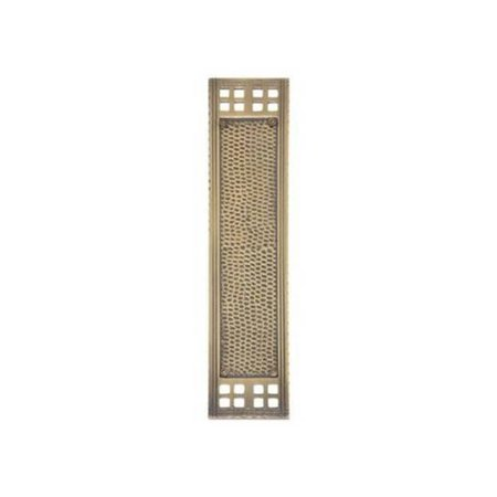 (Brass Accents A05-P5350-605 Push Plate - Polished Brass)