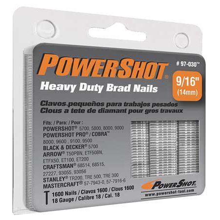 - Powershot Nails, Brad, -, 97-030