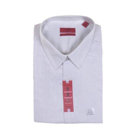 Alfani - Alfani Men's Long Sleeve Stripe Performance Shirt Size 17 1/2  32/33 - Walmart com