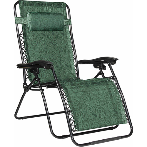 Camco Large Zero Gravity Chair, Green