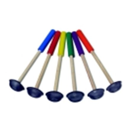 Pull Buoy Mushroom Scooter Paddles, Set 6