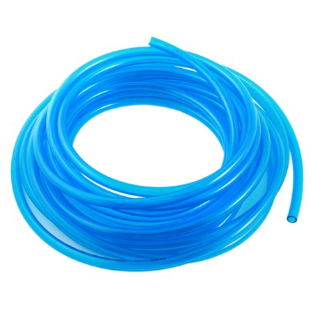 - Engine Gas Fuel Oil Injection PU Line Tubing Hose Tube 6.5x10mm 33Ft Clear Blue