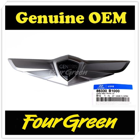 Wings Emblem - Tailgate Trunk Wing Emblem for Hyundai 2015 Genesis OEM NEW [86330B1000]