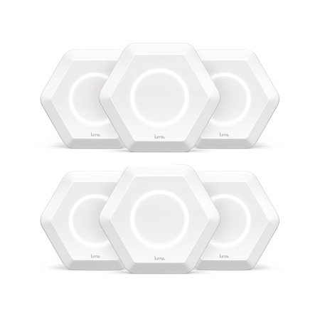 Luma Whole Home WiFi (6 Pack - White) - Replaces WiFi Extenders and  Routers, Works with Alexa, Free Virus Blocking, Free Parental Controls,  Gigabit