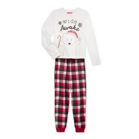Family PJs Wide Awake Kids Winter Two-Piece Pajamas](Family Christmas Pjs Sale)