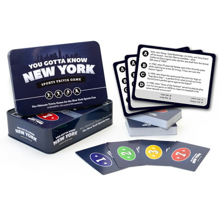 You Gotta Know New York - Sports Trivia - Best Trivia Board Games