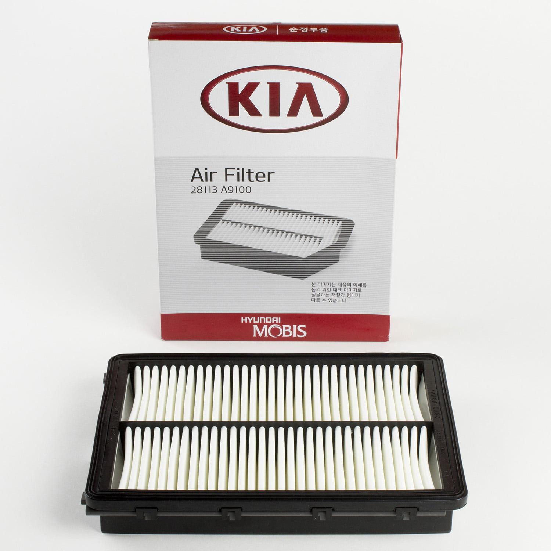 Genuine OEM Kia Engine Air Filter for 2015-2016 Sorento 28113-A9100