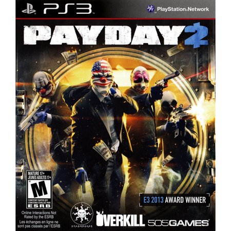 Payday 2 Ps3 Bil](Payday 2 Halloween Heist)