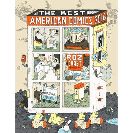 The Best American Comics 2016 - eBook
