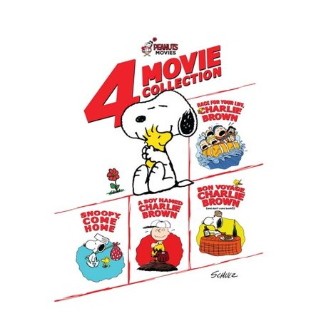 Peanuts Movies  4 Movie Collection Race For Your Life Charlie