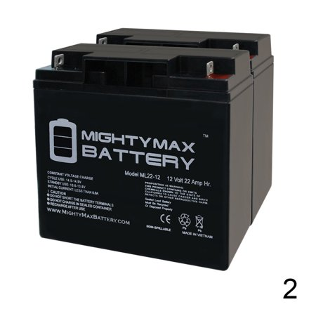 12V 22AH Replacement Battery for Electric Bike Bicycle - 2
