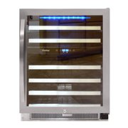 46-Bottle Dual-Zone Connoisseur Series Wine Cooler (Stainless)