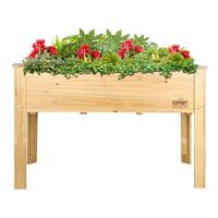 Deals on Expert Gardener Wood Raised Garden Bed