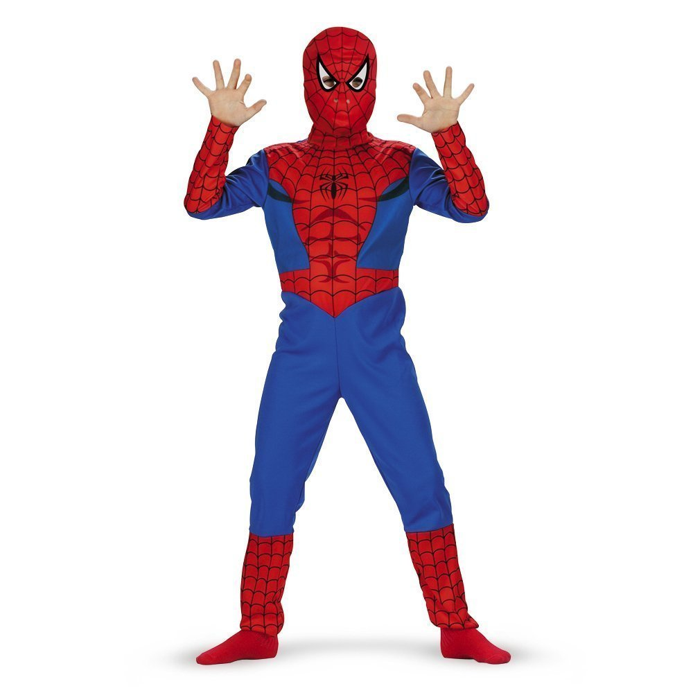 Spiderman Classic Child/Toddler Costume - size (2T)