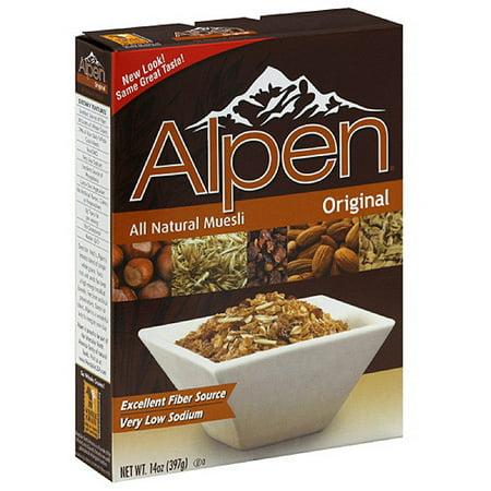 Image of Alpen All Natural Original Muesli, 14 oz (Pack of 12)