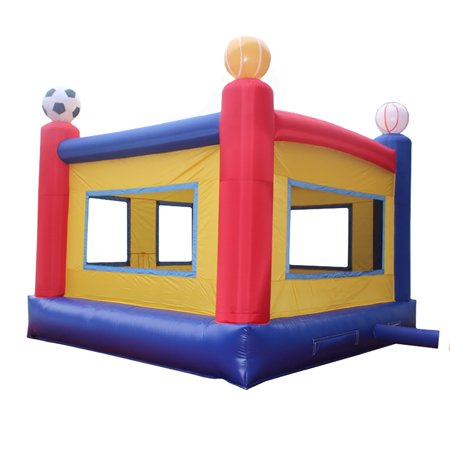 Sports Inflatable Bounce House Commercial Grade Bouncy Jump Moonwalk With Blower
