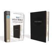 NIV, Holy Bible, Soft Touch Edition, Imitation Leather, Black, Comfort Print (Other)
